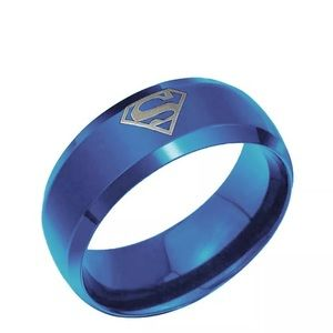 🎉5/$25🎉 Superman Stainless Steel Ring